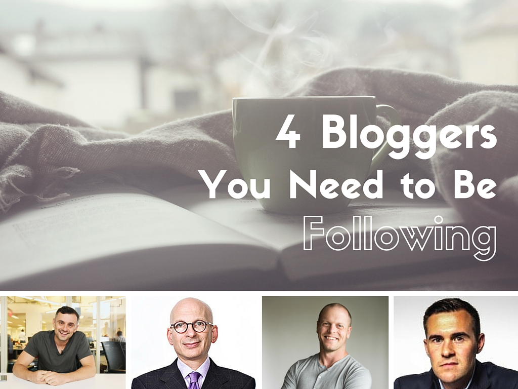 4 Bloggers You Need to be Following