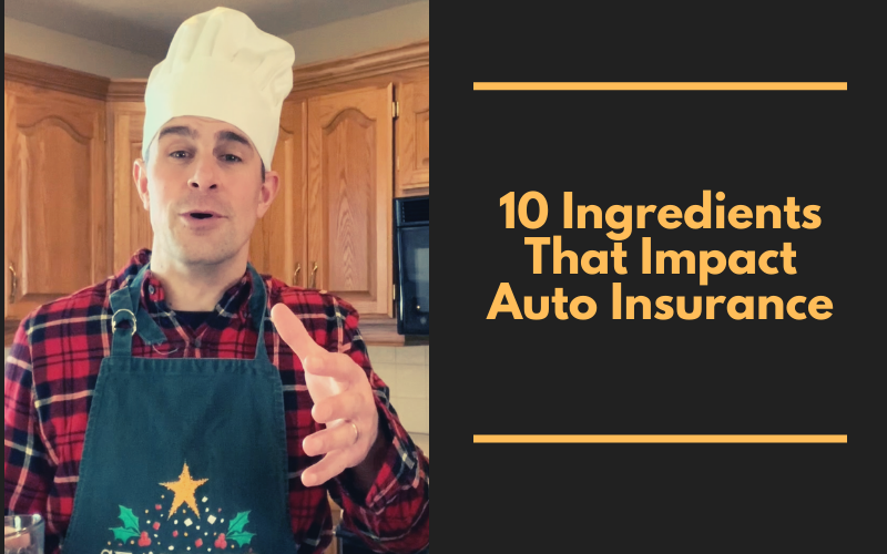 10 Ingredients That Impact Auto Insurance
