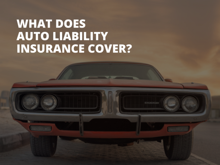 What Does Auto Liability Insurance Cover?